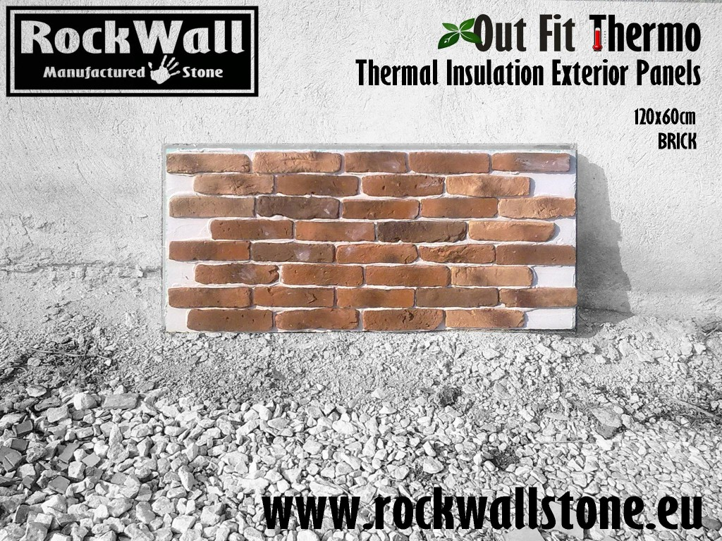 1 Rockwall Panel OutFit Thermo BRICK