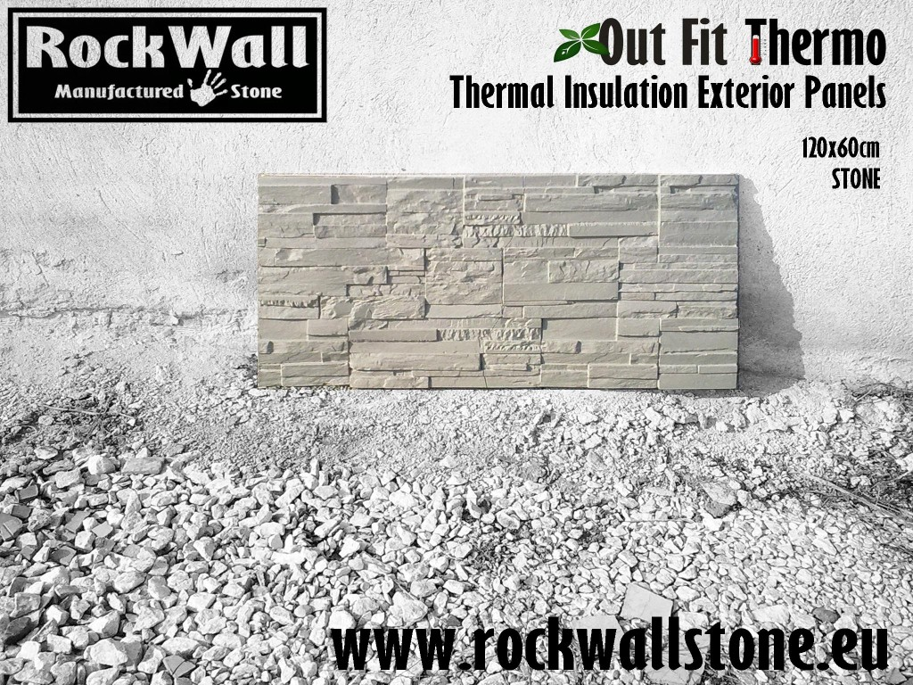 1 Rockwall Panel OutFit Thermo STONE